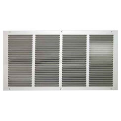 Click here to see Shoemaker 1050-20X16 20x16 Soft White Return Air Grille (Stamped from Cold Roll Steel) - Shoemaker 1050