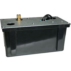 Click here to see Little Giant 551370 Little Giant 551370 Condensate Pump 1/12 Hp 230V 11' Cord 205 Gph