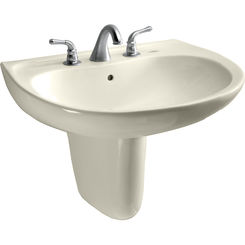 Click here to see Toto LHT241G#12 Toto LHT241G#12 Supreme 23 x 20 Sedona Beige Lavatory Sink and Shroud