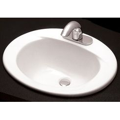 Click here to see Toto LT501.4#12 TOTO Commercial Self Rimming Lavatory Sink - Sedona Beige, 4
