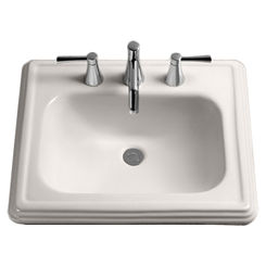 Click here to see Toto LT530.4#03 Toto LT530.4#03 Bone Promenade Pedestal Lavatory, Sink Only 4
