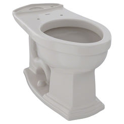 Click here to see Toto C784EF#12 TOTO Eco Clayton and Clayton Universal Height Elongated Toilet Bowl, Sedona Beige - C784EF#12