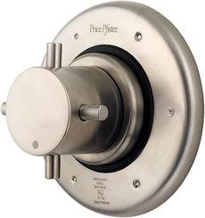 Click here to see Pfister R79-600K Pfister R79-600K 3 Port Diverter Valve Trim - Brushed Nickel