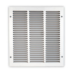 Click here to see Shoemaker 1050-24X10 24x10 Soft White Return Air Grille (Stamped from Cold Roll Steel) - Shoemaker 1050