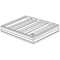 Click here to see Shoemaker 0BD-18X6 18X6 Opposed Blade Damper (Aluminum)-Shoemaker OBD Series