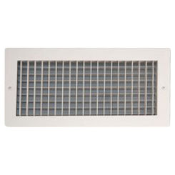 Click here to see Shoemaker 933-18X12 18X12 White Vent Cover (Extruded Aluminum Frame) - Shoemaker 933 Series