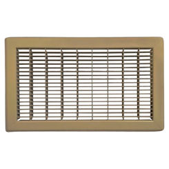 Click here to see Shoemaker 1600-10X34 10x34 Driftwood Tan Vent Cover (Steel Honeycomb Construction) - Shoemaker 1600