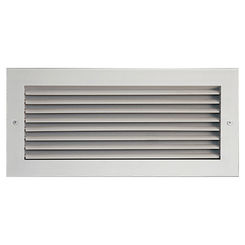 Click here to see Shoemaker 915-40X6 40X6 White Vent Cover (Aluminum) - Shoemaker 915 Series