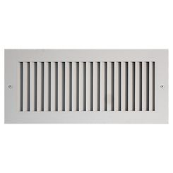 Click here to see Shoemaker 916-18X24 18X24 White Vent Cover (Aluminum) - Shoemaker 916 Series