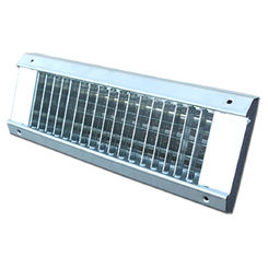 Click here to see Shoemaker USR34-0-20X3 20X3 White Vent Cover (Galvanized Steel)-Shoemaker USR34-0 Series