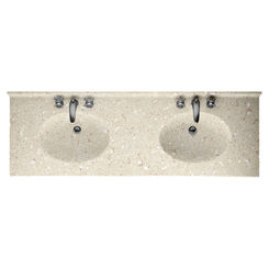Click here to see Swanstone CH022732B.072 Swanstone CH2B2273-072 Chesapeake Pebble Vanity Top
