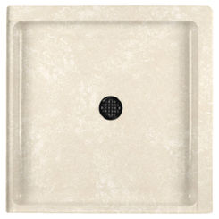 Click here to see Swanstone SF03232MD.126 Swanstone SS-3232-126 Cloud Bone 32