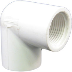 Click here to see Commodity  3/4-Inch PVC 90-Degree Elbow - Threaded, Schedule 40