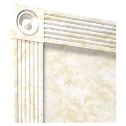 Click here to see Swanstone TC00105TR.125 Swanstone TC-105TR-125 Cloud White Trim Kit For 96