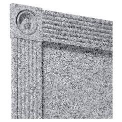 Click here to see Swanstone TC06072TR.042 Swanstone TC-6072TR-042 Gray Granite Trim Kit For 60