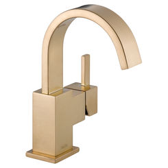 Click here to see Delta 553LF-CZ Delta 553LF-CZ Vero One Handle Bathroom Faucet - Champagne Bronze