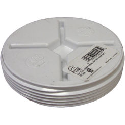 Click here to see Commodity  4 Inch PVC Sewer & Drain Flush Plug Fitting