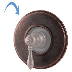Click here to see Pfister 960-038U Pfister 960-038U Replacement Shower Handle Wall Flange, Rustic Bronze