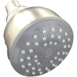 Click here to see Symmons 4-226F-STN SYMMONS 4-226F-STN CLEAR-FLO 2000 SHOWERHEAD SATIN NICKEL