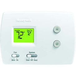 Click here to see Honeywell TH3110D1008 Honeywell TH3110D1008 PRO Non-Programmable Digital Thermostat