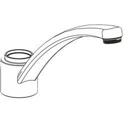 Click here to see Moen 100254 Moen 100254 Part Spout Assembly Two Handle