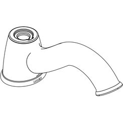 Click here to see Moen 101414 Moen 101414 Part Spout, Roman Tub