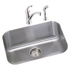 Click here to see Elkay DXUH2115DFBG Elkay DXUH2115DFBG Dayton Stainless Steel Single Bowl Sink Package