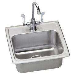 Click here to see Elkay LR1716SC Elkay LR1716SC Gourmet Stainless Steel Single Bowl Sink Package