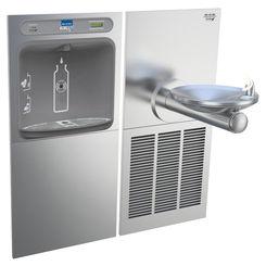Click here to see Elkay LZWS-SFGRN8K Elkay LZWS-SFGRN8K EZH2O Bottle Filling Station SwirlFlo Single Fountain