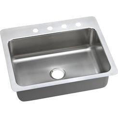Click here to see Elkay DLSR2722104 Elkay DLSR2722104 Gourmet Single Bowl Sink