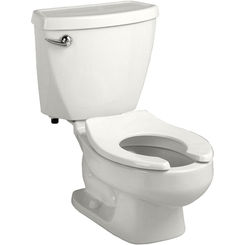 Click here to see American Standard 2315.228.020 American Standard Baby Devoro FloWise 10 Inch High Round Front Toilet - 1.28 gpf, White - 2315.228.020