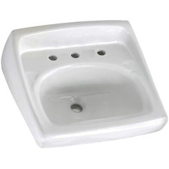 Click here to see American Standard 0356.028.020 American Standard 0356.028.020 Lucerne Wall-Mount Sink, White