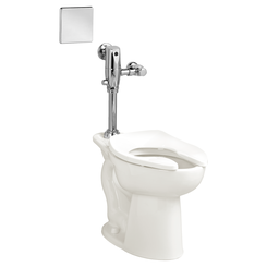 Click here to see American Standard 3451.716.020 American Standard 3451.716.020 White Madera Selectronic Flush Valve Toilet