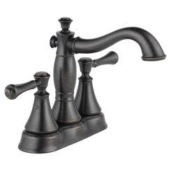Click here to see Delta 2597LF-RBMPU Delta 2597LF-RBMPU Cassidy Two-Handle Centerset Bathroom Faucet - Venetian Bronze
