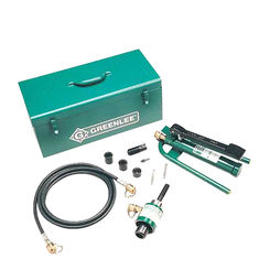 Click here to see Greenlee 7610SB Greenlee 7610SB Hydraulic Punch Set (1/2-4)