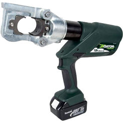 Click here to see Greenlee E12CCXL12 Greenlee E12CCXL12 Battery-Powered Gator Crimp Tool (12-ton)(12V Charger)