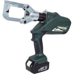 Click here to see Greenlee ECCXL22 Greenlee ECCXL22 Battery-Powered Gator-Pro Crimp Tool (6-Ton)(230V Charger)