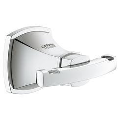 Click here to see Grohe 40631000 Grohe 40631000 Grandera Robe Hook, StarLight Chrome