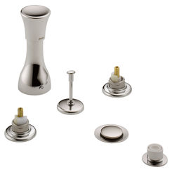 Click here to see Delta 44-PNLHP Delta 44-PNLHP Classic Bidet Faucet Trim in Polished Nickel - Less Handles