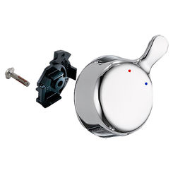 Click here to see Delta RP73642 Delta RP73642 Temperature Knob and Cover - 17 Series, Chrome