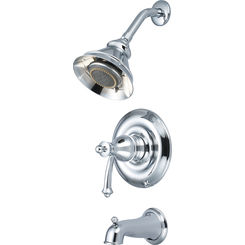 Click here to see Pioneer 4BL100T Pioneer 4BL100T Single-Handle Tub/Shower Trim Set in a  Classic Chrome Finish