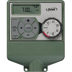Click here to see Orbit  Easy Dial 57874 Water Timer, 4 Zone, 99 min