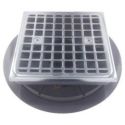 Click here to see Kohler 9136-CP Kohler K-9136-CP Square Tile-In Shower Drain, Polished Chrome