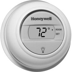 Click here to see Honeywell T8775A1009 Honeywell T8775A1009 1 Heat Single Stage Digital Round Thermostat