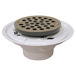 Click here to see   Jones Stephens D50001  2X3 Pvc Shower/Floor Drain W/Ss Str