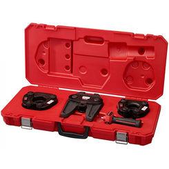 Click here to see Milwaukee 49-16-2691 Milwaukee 49-16-2691 M18 Force Logic SS Press Ring Tool Kit (1-1/2
