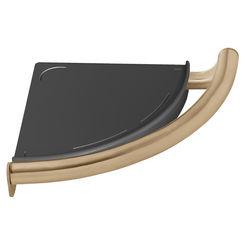 Click here to see Delta 41516-CZ Delta 41516-CZ Corner Shelf/Assist Bar - Champagne Bronze