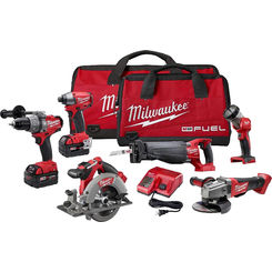 Click here to see Milwaukee 2796-26 Milwaukee 2796-26 M18 Fuel 6 Tool Combo Kit