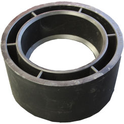 Click here to see Commodity  6 x 4 Inch ABS Flush Bushing, ABS Construction