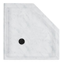Click here to see Swanstone SN00038MD.131 Swanstone SS-38NEO-131 Neo-Angle Shower Floor, 38
